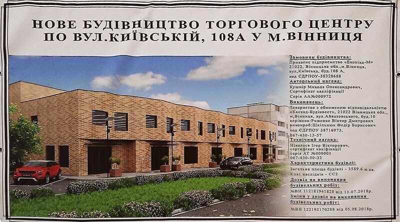 На Київській замість базару будують новий торговий центр