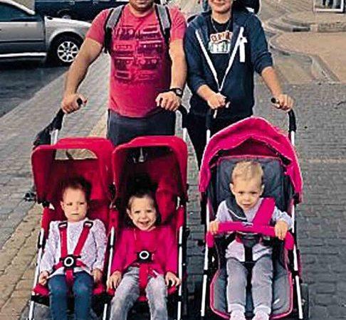 Чому батьки вінницької трійні досі наймають житло. Хоча батько їх служить у Збройних силах України