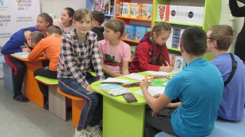 У Вінинцькій обласній лікарні відкрили палату з книжками для дітей