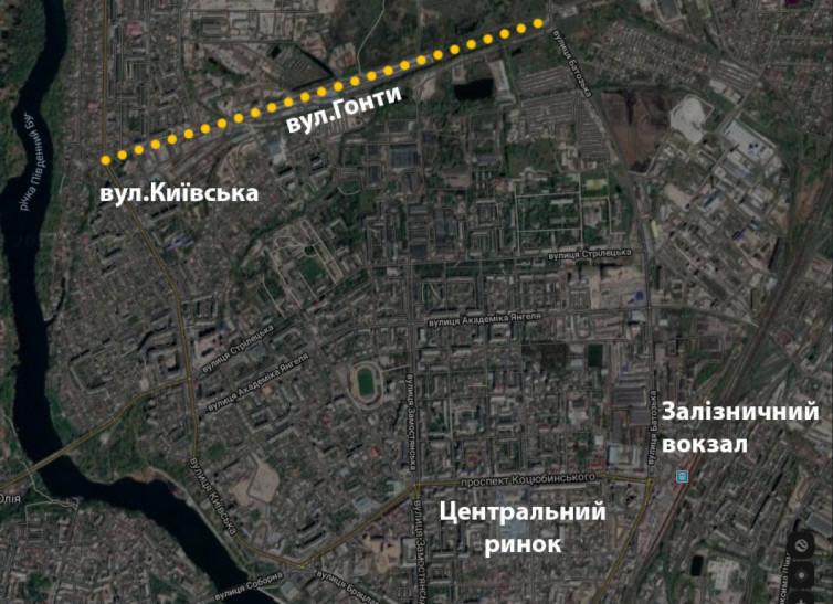 У Вінниці будують нову дорогу. Вулицю Київську з'єднають з Батозькою