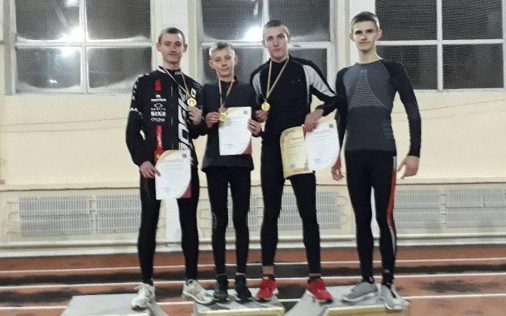 Спортсмени з Вінниці зайняли перше  місце на обласному чемпіонаті з легкої атлетики