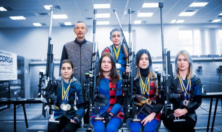 2 місце в чемпіонаті України зі стрільби зайняла збірна з Вінниччини