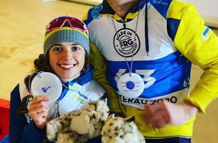 """Біатлоністка з Вінниччини здобула """"золото"""" та """"срібло"""" на Кубку світу"""