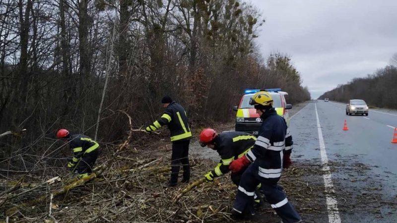 26 викликів за добу: рятувальники розповіли про наслідки негоди на Вінниччині