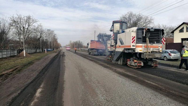У Вінниці розпочали ремонт дороги на Тиврів