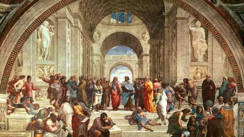 Тут була Лена, Тамара: Вінницькі туристки познущалися над фрескою Рафаеля у Ватикані