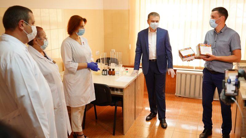 """""""На сьогоднішній день без відданої роботи медиків, ми б не мали тих результатів, які маємо у місті"""", – Сергій Моргунов"""