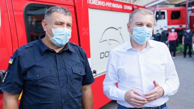 «Безпека у Вінниці повинна бути на найкращому рівні», – мер Вінниці Моргунов