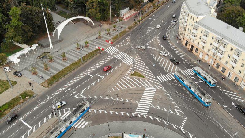 На площі Гагаріна почнуть тестувати світлофори