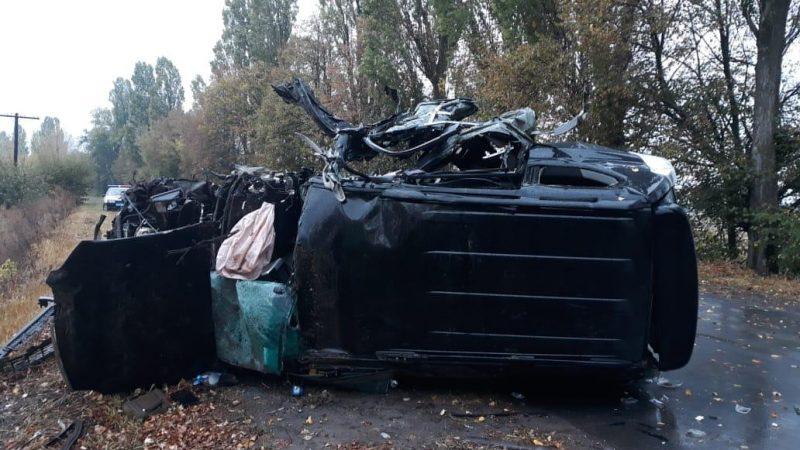 Аварія на Вінниччині: один загиблий та чотири госпіталізовано