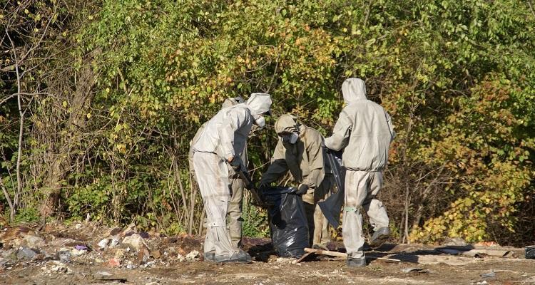 У Вінниці почалась утилізація знайдених місяць тому хімічних відходів