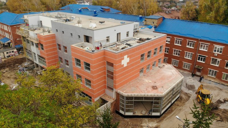 Місто виділило майже 30 мільйонів на те щоб добудувати корпус для сучасного відділення екстреної медичної допомоги