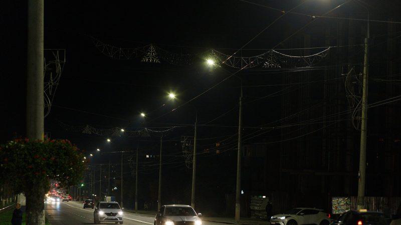 По вулиці Пирогова замінили 150 ліхтарів