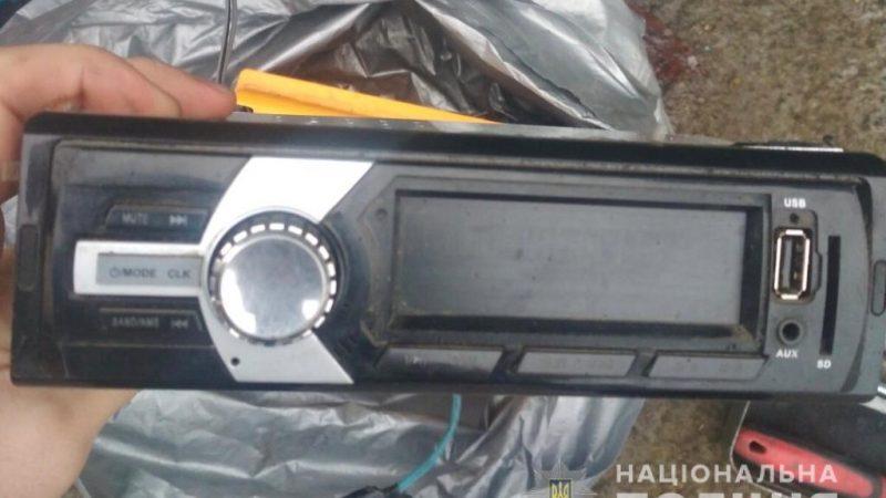 Копи затримали соловіка, який обкрадав автомобілі Вінничан