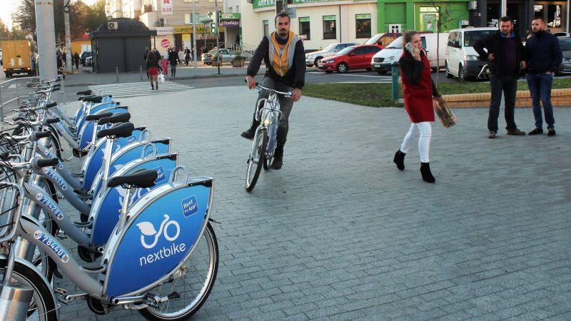 В 2023 році у Вінниці буде 45 велостанцій Некстбайк