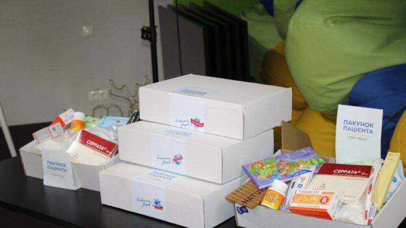 """СтопВірус доставив у лікарні Вінниці """"Пакунок пацієнта"""" для ковідних хворих (ВІДЕО)"""