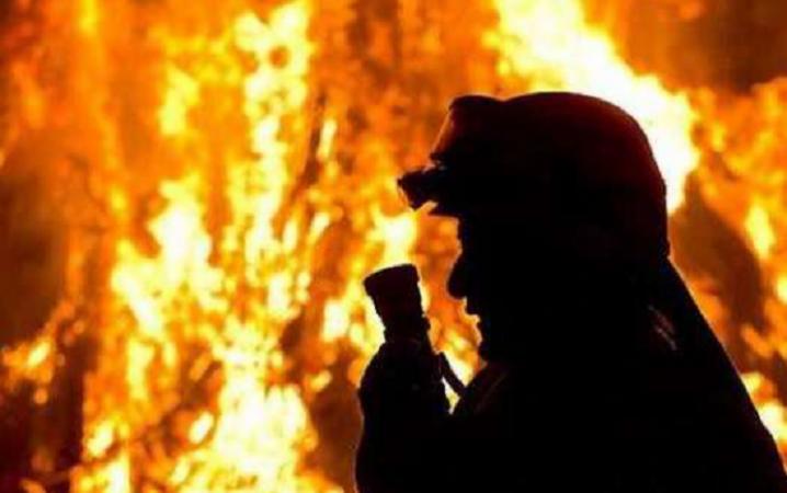 На Вінниччині внаслідок пожежі загинув чоловік