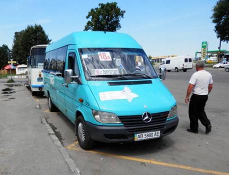 З 1 червня у Вінниці подорожчає маршрутне таксі