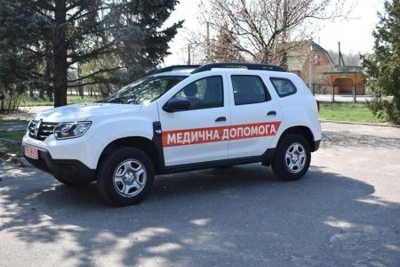 Одну з громад Вінниччини повністю забезпечили санітарним транспортом