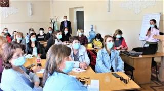На Вінниччині завершили навчання з вакцинації від COVID-19 ще п'ять мобільних бригад