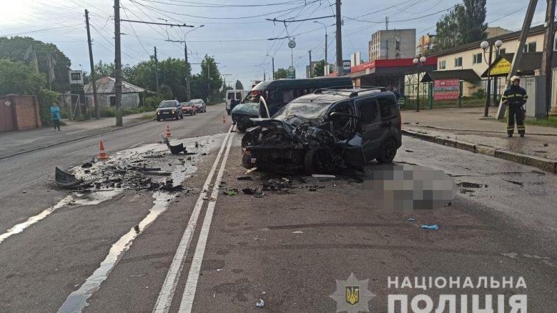 ДТП у Вінниці: одна людина загинула, двоє в реанімації