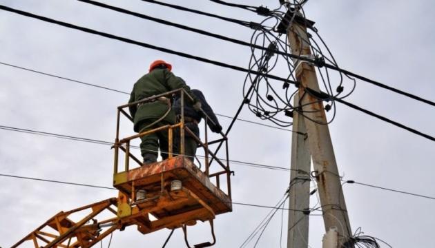 На Вінниччині негода залишила без електроенергії шість населених пунктів