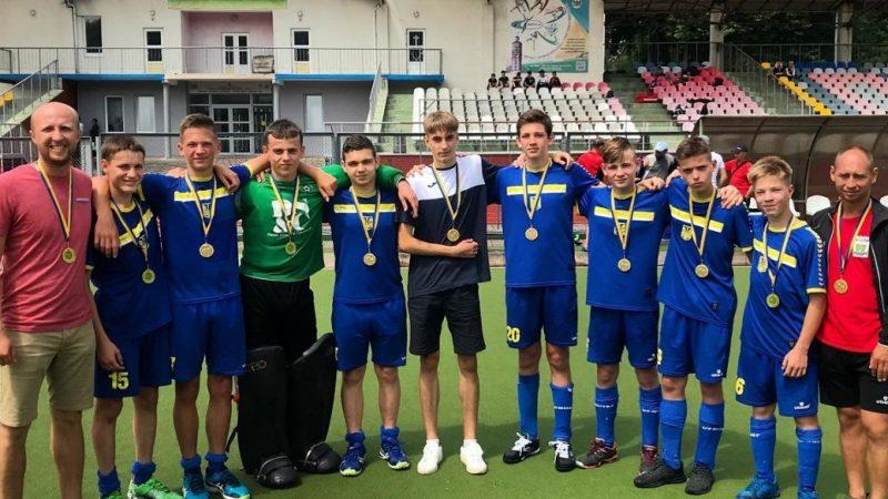 Вінницькі юніори здобули перемогу на чемпіонаті України з хокею на травіv