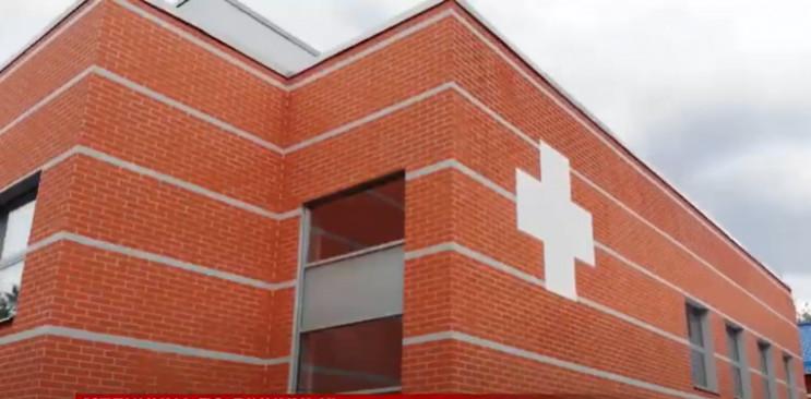 У Вінниці завершують будівництво нового корпусу лікарні швидкої допомоги