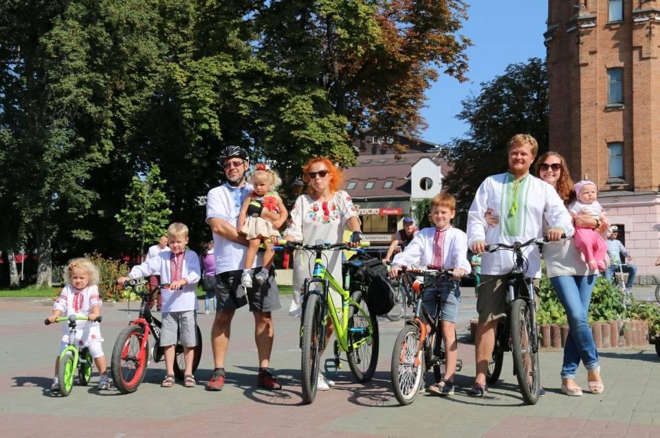 У Вінниці на День Незалежності України відбудеться святковий велозаїзд у вишиванках