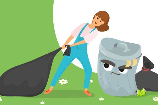 Жителів Луки-Мелешківської змушують викидати сміття у платних пакетах