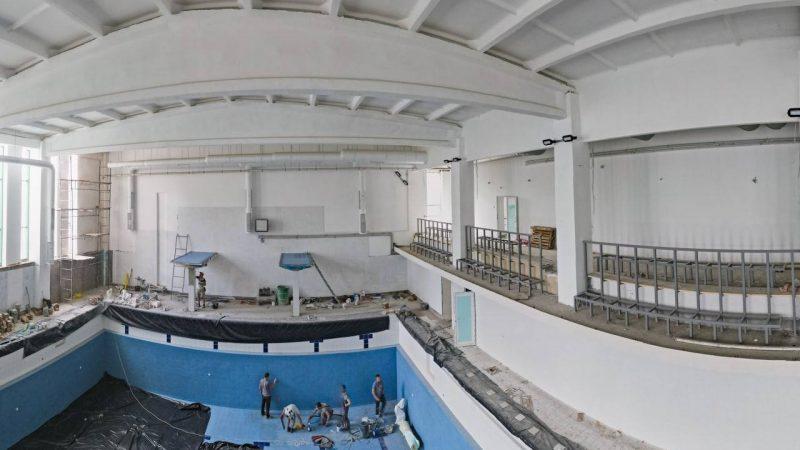 У Вінниці муніципальний спорткомплекс «Аква-Він» вже майже готовий