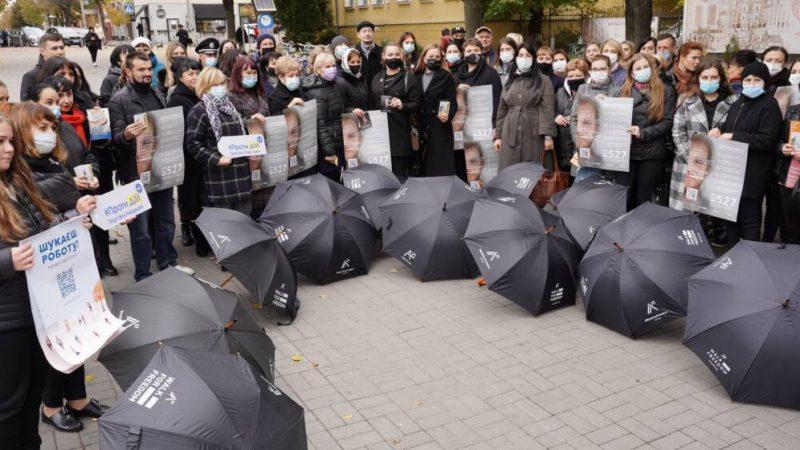 З нагоди Європейського дня боротьби з торгівлею людьми у Вінниці відбулась «Хода за свободу»